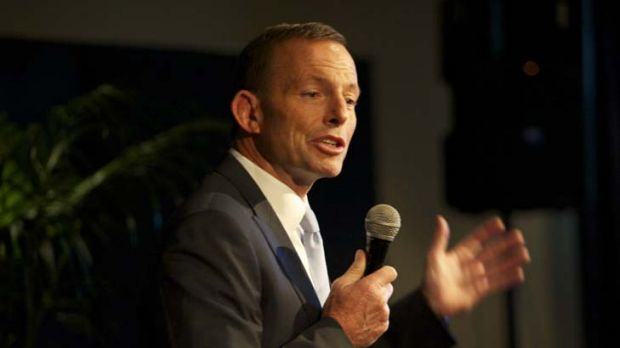 "Australia needs to deal with its ""backyard issues"" ... Opposition Leader Tony Abbott."