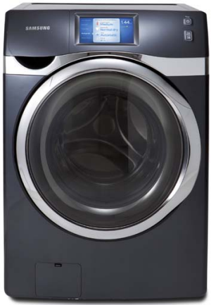 Samsung's wi-fi-enabled washing machine, the WF457.