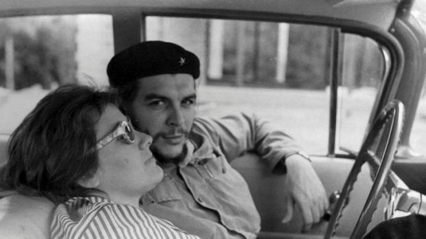 Fighting the good fight: Che Guevara and Aleida March in Santa Clara in December 1958.