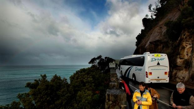 Fewer tourists have come to Australia because of the global financial crisis.