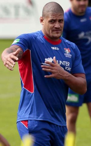 Willie fever ... Willie Mason should make his first grade return tonight against the Panthers.
