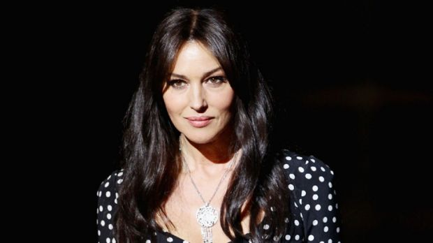 """All natural ... Monica Bellucci prefers wrinkles to """"plastic face""""."""