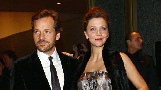 Second daughter ... Maggie Gyllenhaal and Peter Sarsgaard.
