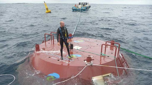 Harnessing the power of the sea...Carnegie's wave energy project is a Southern Hemisphere-first.