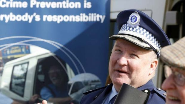 """I've loved the cops, I still do"" ... Deputy NSW Police Commissioner Dave Owens is on his way out."