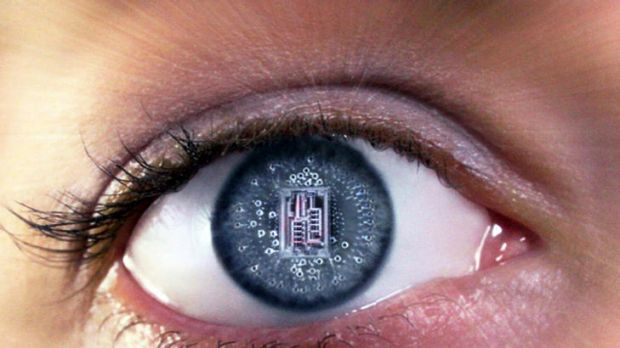 A supplied pic of what the bionic eye may look like.