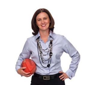"""""""You certainly don't have to be an avid fan of sport but in Australia we have a culture that's pervaded by it"""" ... Paula ..."""
