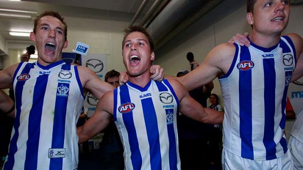 North Melbourne, rarely granted prominent game times, such as Friday night footy, plays Gold Coast and GWS twice in 2012.