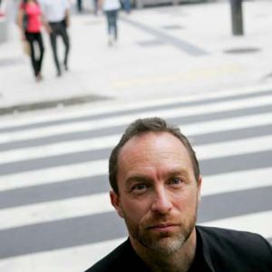 """Helping to embolden the """"academic spring"""" ... Jimmy Wales."""