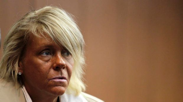 Patricia Krentcil ... denies taking her daughter to a tanning salon.