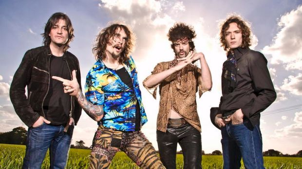 The Darkness is a '70s-influenced glam-rock band.