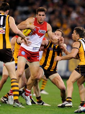 There was a time when an opposition ball-carrier would be swamped, but the Hawks' statistics in hard-ball gets and ...