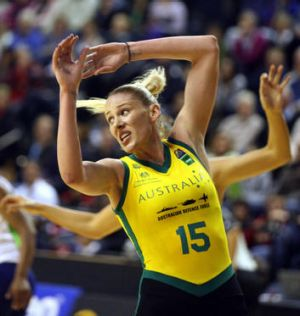 Lauren Jackson has won two silver medals with the Opals, and wants gold this year.