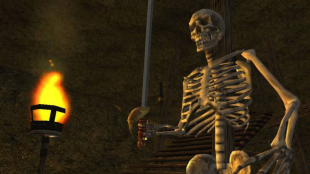 Has gaming progressed in any meaningful way in the decade between Morrowind and Skyrim?