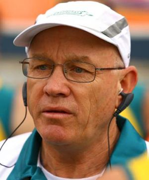 """""""It is bouncy, it has not been played on enough and it will be like this for the next few months"""" ... Kookaburras coach ..."""