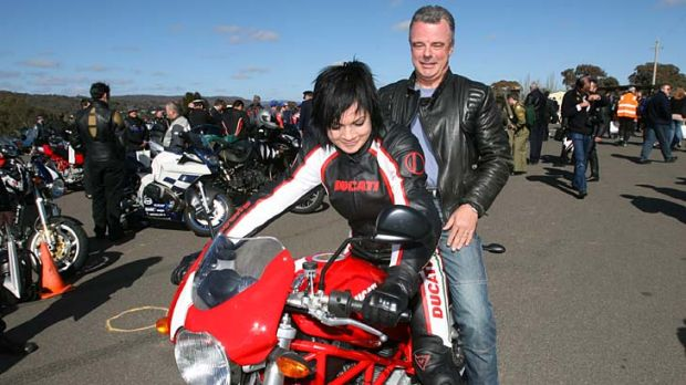 Former federal Opposition leader Brendon Nelson takes a spin with Sarah McLeod.