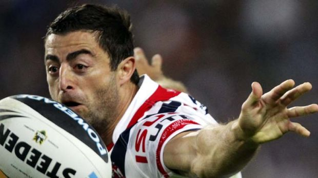 One-club man … Anthony Minichiello will be playing in the red, white and blue of Sydney for at least another year ...