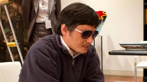 Chen Guangcheng ... wants to thank Hillary Clinton in person.