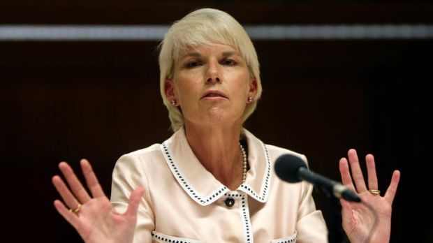 Heralding change: Westpac chief executive Gail Kelly.