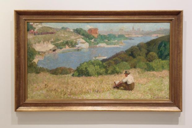 The Art Gallery of NSW is rehanging its collection of Australian Art.