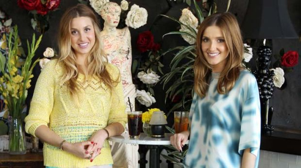 Career in bloom ...  Whitney Port and Kate Waterhouse.