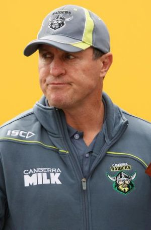 Canberra Raiders coach David Furner.