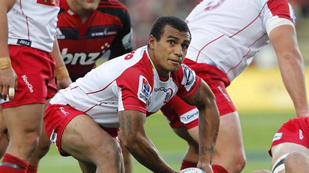 Reds scrumhalf Will Genia.