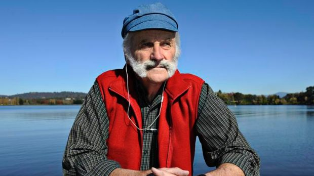 Skipper Jim Paterson of Lake Burley Griffin Cruises.