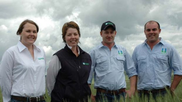 A cohesive team ... Jessica Hogan South NSW Account Manager, Machallie McCormack Victorian Account manager, Tom Roberts ...