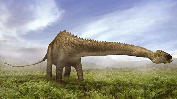 Pardon me ... the Diplodocus produced high levels of methane.