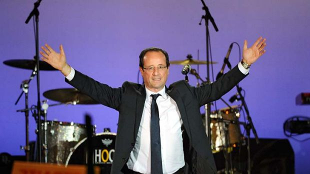 France's newly-elected president, Francois Hollande.