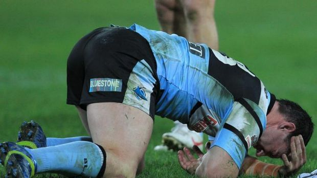 Sharks captain Paul Gallen is in doubt for Origin I after going off injured and being reported against the Rabbitohs.