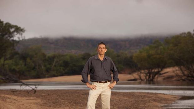 Big job in a big land … the NT Environment Centre's Stuart Blanch says the territory has some of the country's ...