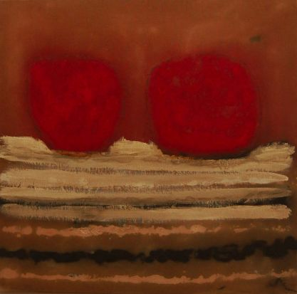 'Boya Ngorpung (Rocks with blood)' by Lindsay Harris, Noongar people.