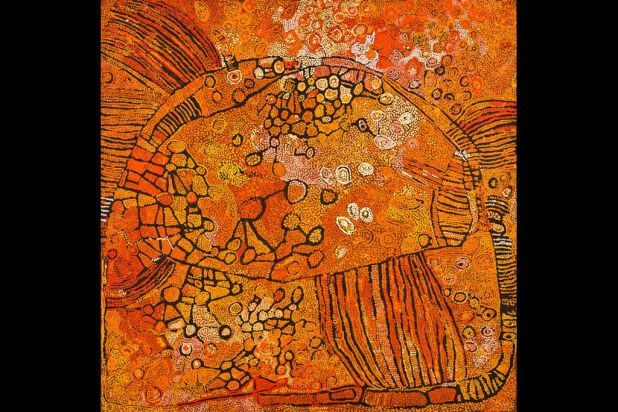 'Untitled' by Naata Nungurrayi, Pintupi people.