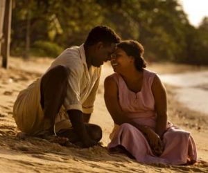 Great love ... Jimi Bani and Deborah Mailman play Eddie and Bonita Mabo in <i>Mabo</i>, a film Perkins believes will be ...