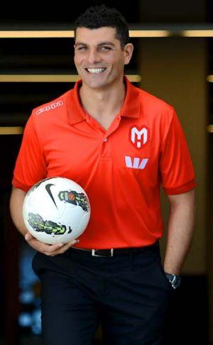 Melbourne Heart coach John Aloisi.