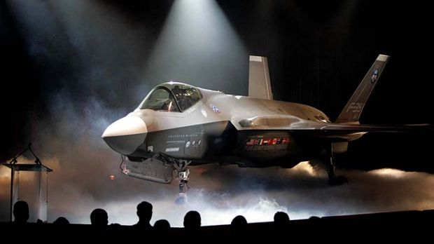 Problems built into its very DNA ... The Lockheed Martin Joint Strike Fighter is unveiled during a ceremony in Texas, ...