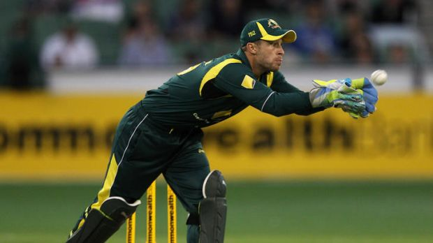 Bound for Blighty: Matthew Wade will have a steep learning curve in the ODIs against England, having never played there.