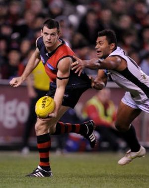 Signing up: The Bombers' Brent Stanton.