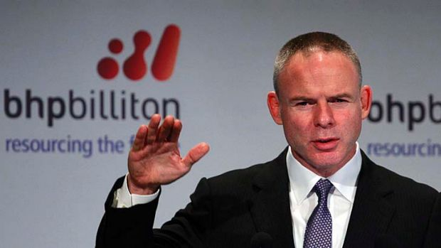 Misplaced speculation: BHP chief executive Marius Kloppers.