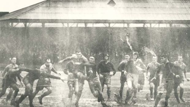 Historic day ... NSW's 17-6 win over the South Africa on June 19, 1937.