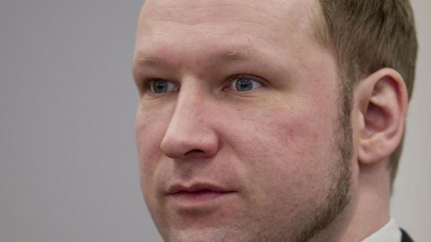 Anders Behring Breivik ... shook his head in disapproval.