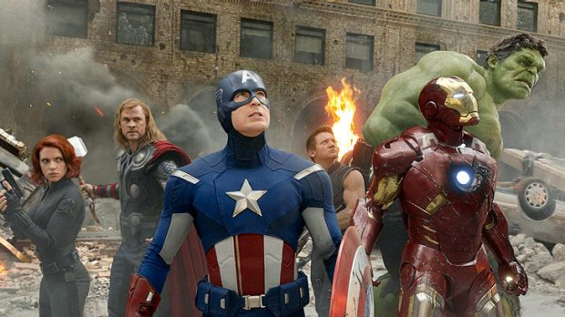 Roaring success ... <em>The Avengers</em> has taken the local box office by storm.