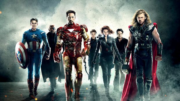 Heroic effort: <i>The Avengers</i> is a box-office smash in Australia and the US.