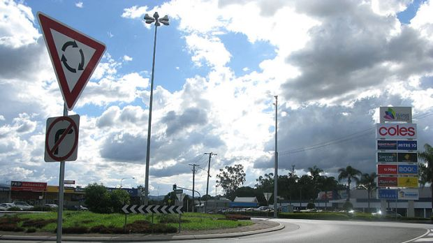 Last night police were stopping vehciles at this roundabout at the intersection of Brookfield and Moggill roads in ...