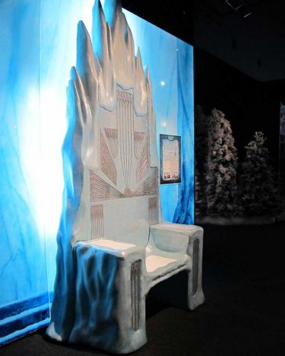 The White Witch's throne.