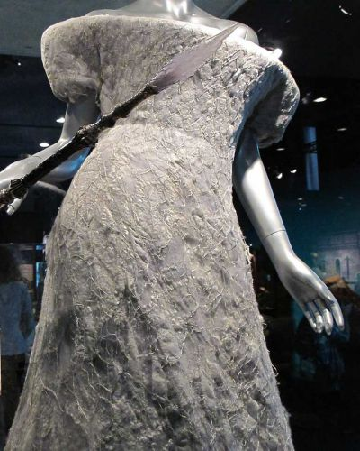 The White Witch's dress.