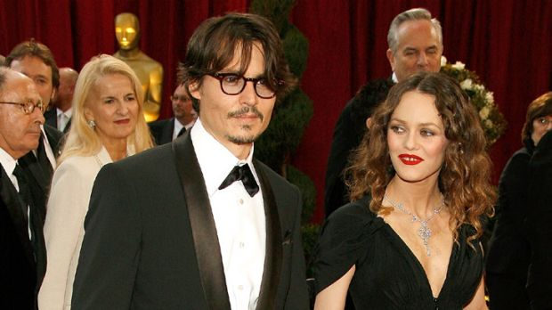 Not quite soulmates ... Vanessa Paradis and Johnny Depp.
