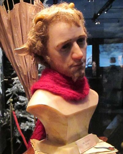 A bust of mr Tumnus.